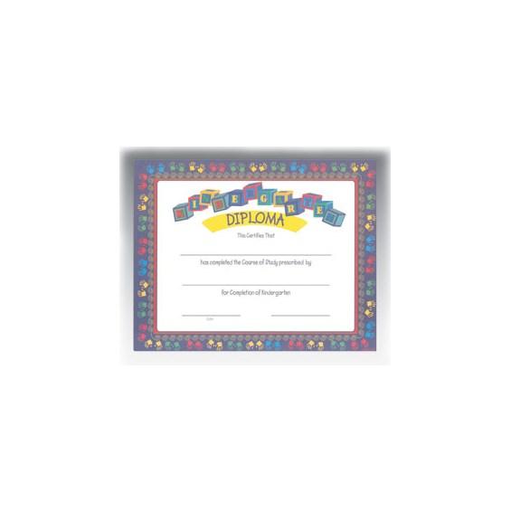 """Kindergarten Diploma (8.5"""" x 11"""")"""