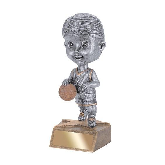 5.75 in Basketball Bobble Head - Female