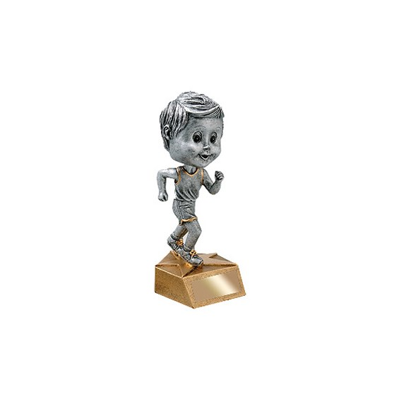 "5-3/4"" Male Track Bobble Head"