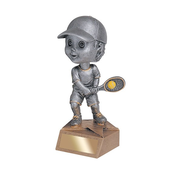 "5.75"" Tennis Bobble Head - Male"