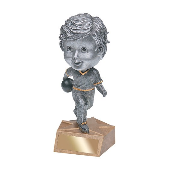6 in Bowling Bobble Head - Male