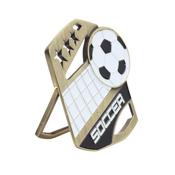 Color Pop Up Soccer Medal