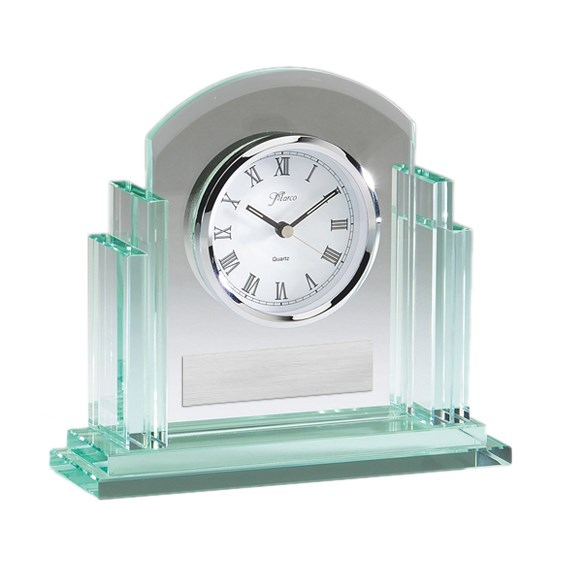 Glass Desk Clock