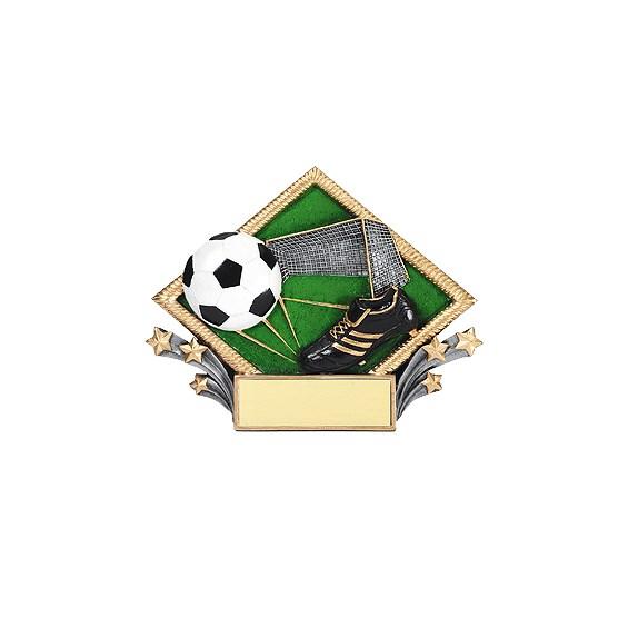 "7-1/2"" X 6"" Soccer Diamond Plate"