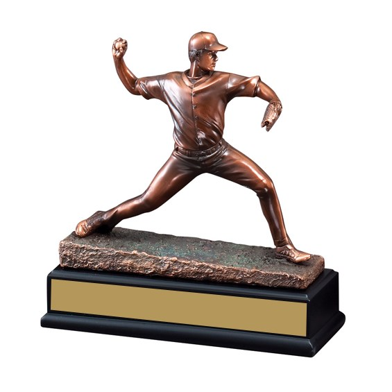 "8 1/2"" Baseball Pitcher Trophy"