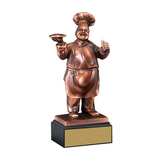 "11"" Chef Cooking Trophy"