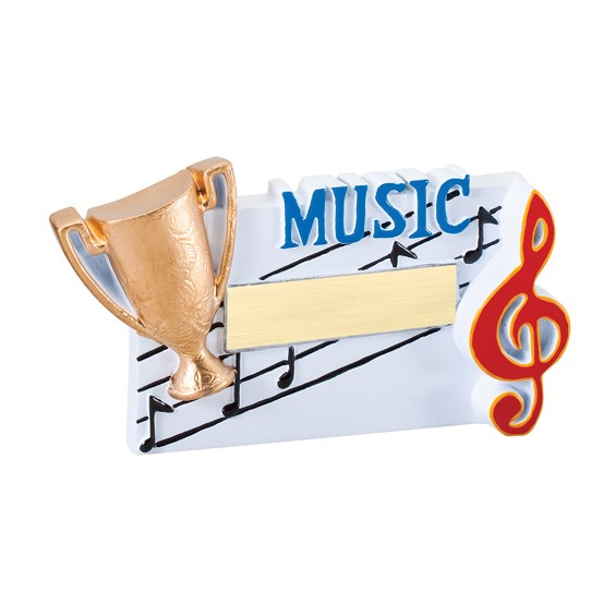 Winners Cup Music Resin Trophy