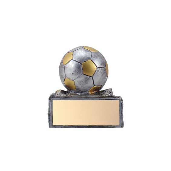"4.25"" Soccer Ball Trophy - Pewter"