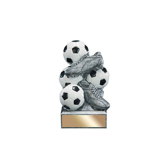 6 in Soccer Resin Sports Bank