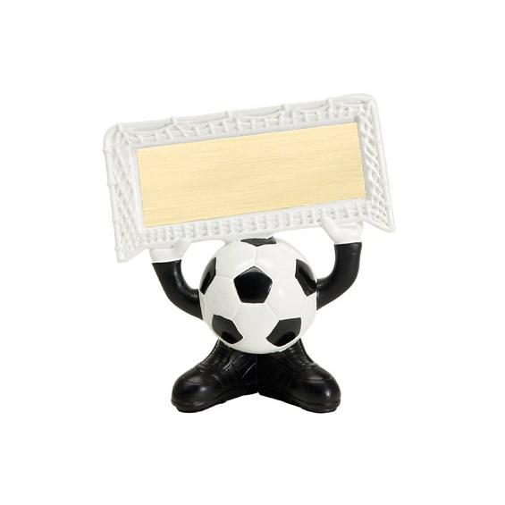 "4.25"" Soccer Ball Head Resin Trophy"