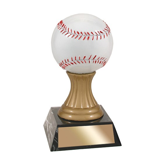 5-1/2 in Baseball Resin Trophy