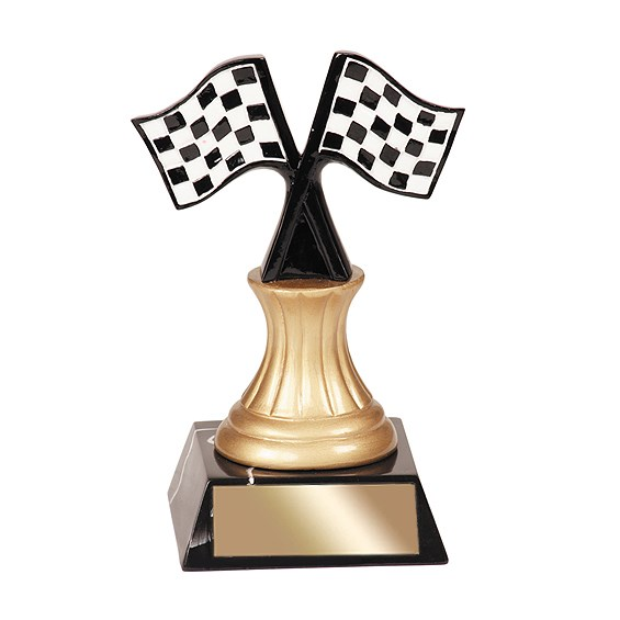 "5-1/2"" Racing Resin Trophy"