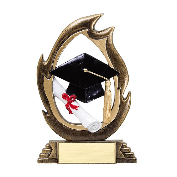 7-1/4 in Graduation Flame Series Resin