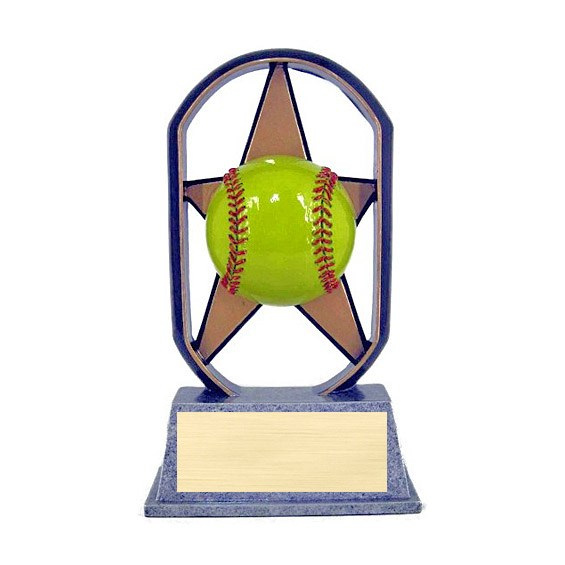 "5"" Ecostarz Softball Resin"