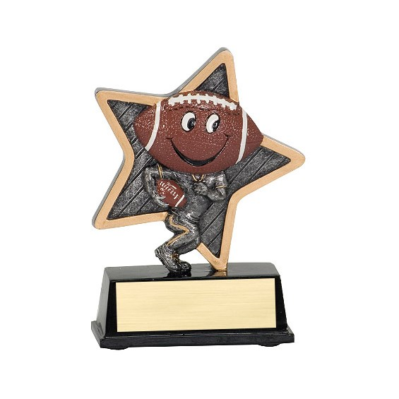 "5"" LittlePal Football Resin"