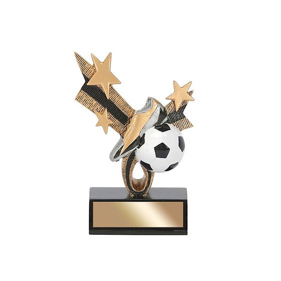 6 in Soccer Top Star Resin