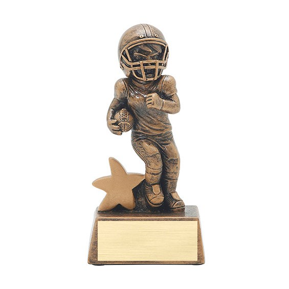 "5"" Junior Star Football Resin"