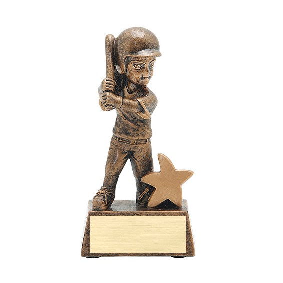 "5"" Junior Star Softball Resin"