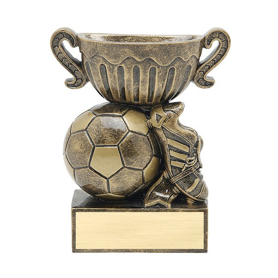 4.5 in Soccer Sports Cup Resin