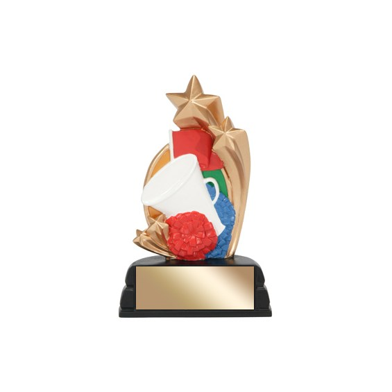 6 in Cheerleading Trophy Star Series