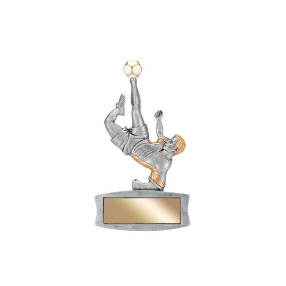 "7"" Magentic Male Soccer Trophy"