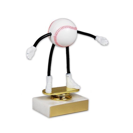 Moveable Baseball Trophy