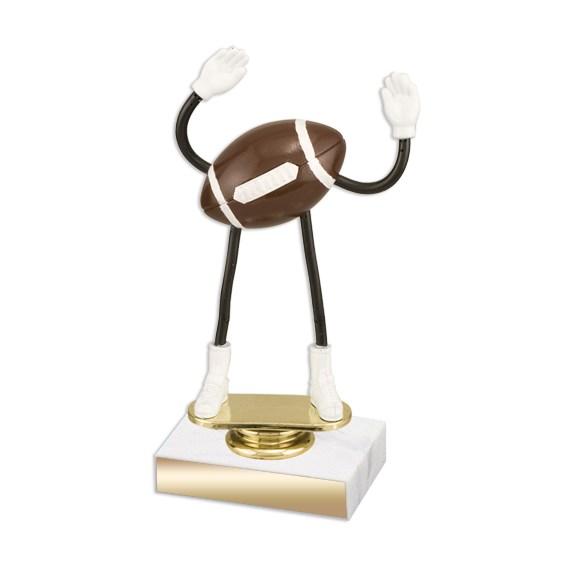 Flexible Football Trophy