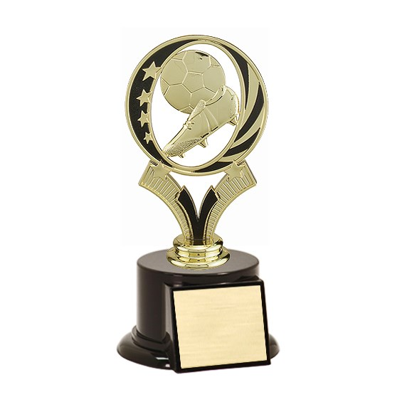 "7"" Midnite Star Soccer Trophy"
