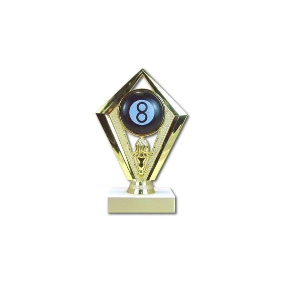 "6-3/4"" Diamond Billiards Trophy"