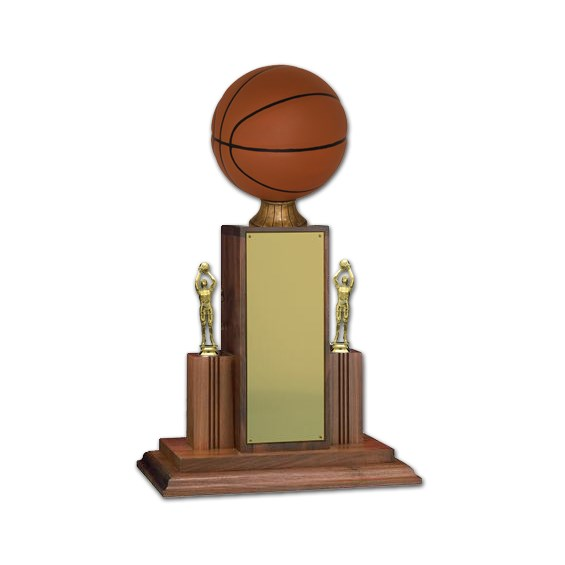 25 in Championship Basketball Trophy