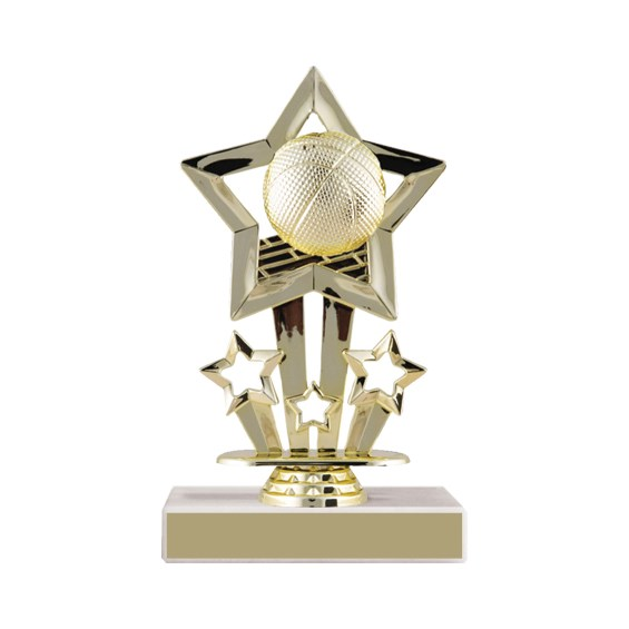 Star Basketball Trophy