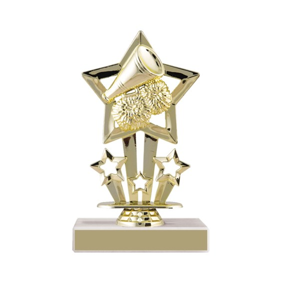 6-3/4 in Star Cheerleading Trophy
