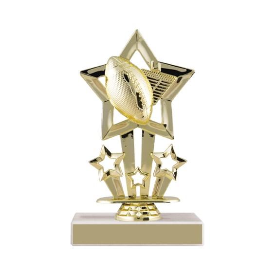 6-3/4 in Star Football Trophy