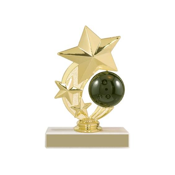 "5-3/4"" Bowling Trophy"