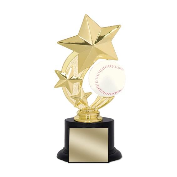 "7"" Baseball Trophy"