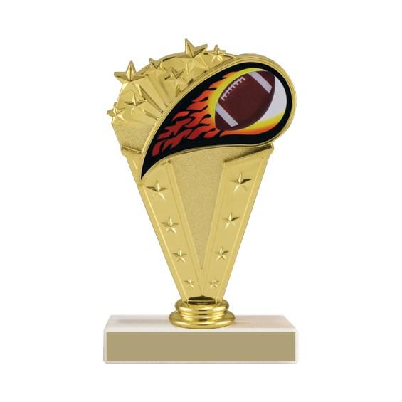 "6-3/4"" Football Trophy"