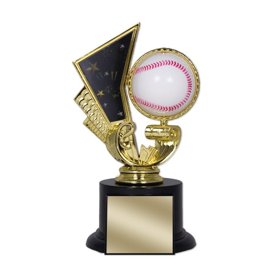 6 1/2 in Baseball Trophy