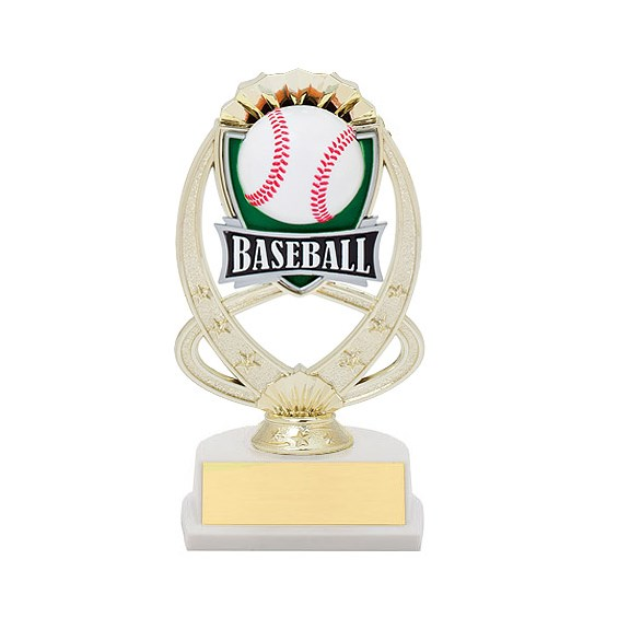 "7.5"" Baseball Theme Trophy"