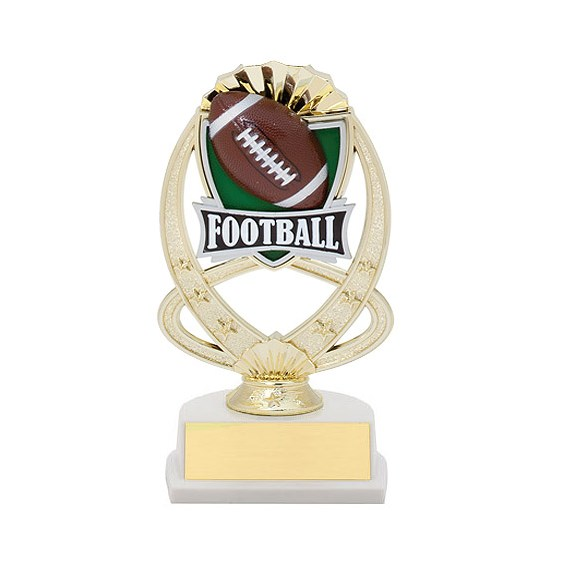 7.5 in Football Theme Trophy