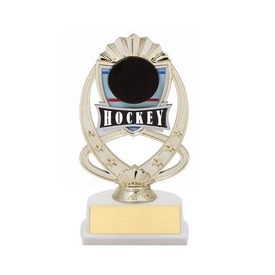 "7.5"" Hockey Theme Trophy"