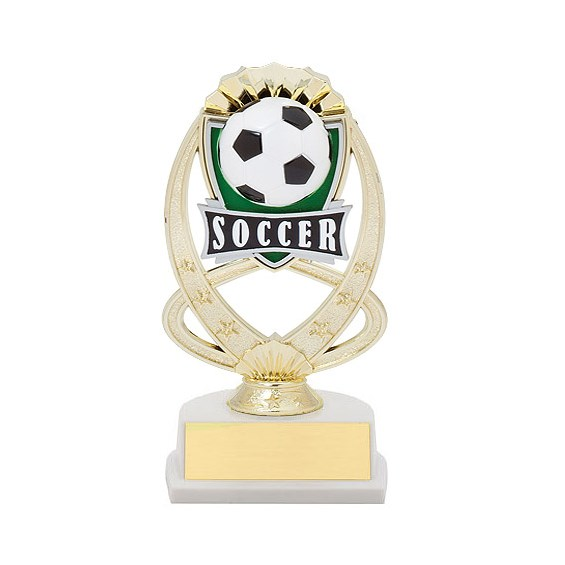 7.5 in Soccer Theme Trophy