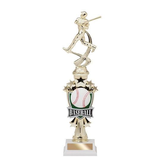 "14"" Allstar Baseball Trophy"