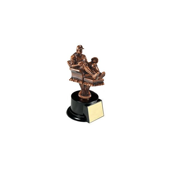 "7.5"" Baseball Resin Trophy"