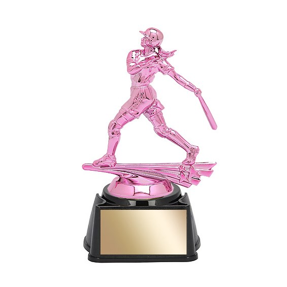 6-3/4 in Female Softball Trophy