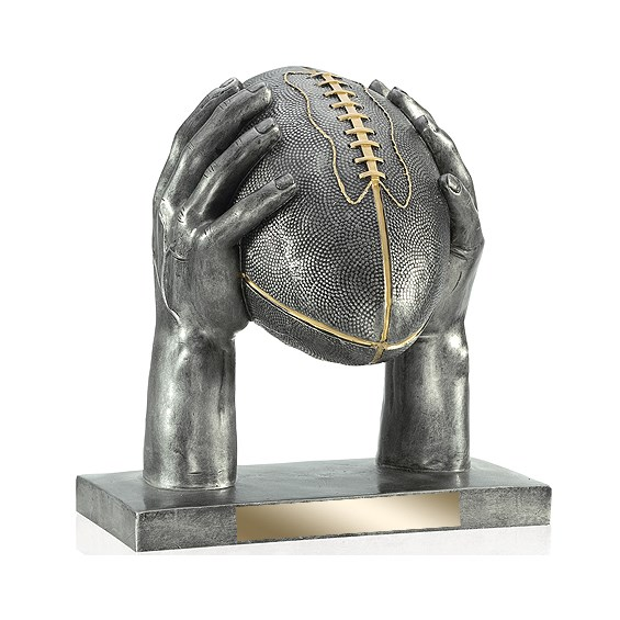 "12.5"" Football Resin Trophy"