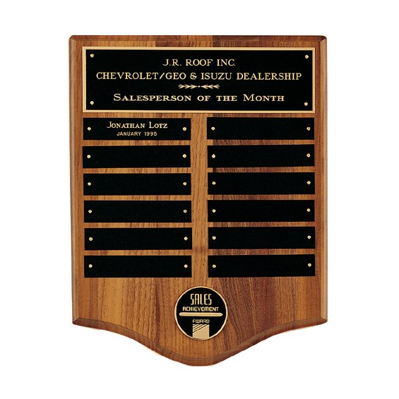 Corporate Perpetual Plaque