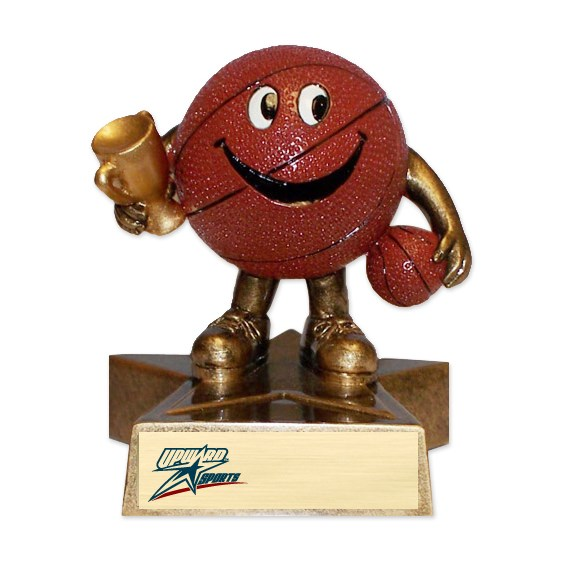 Happy Basketball Trophy