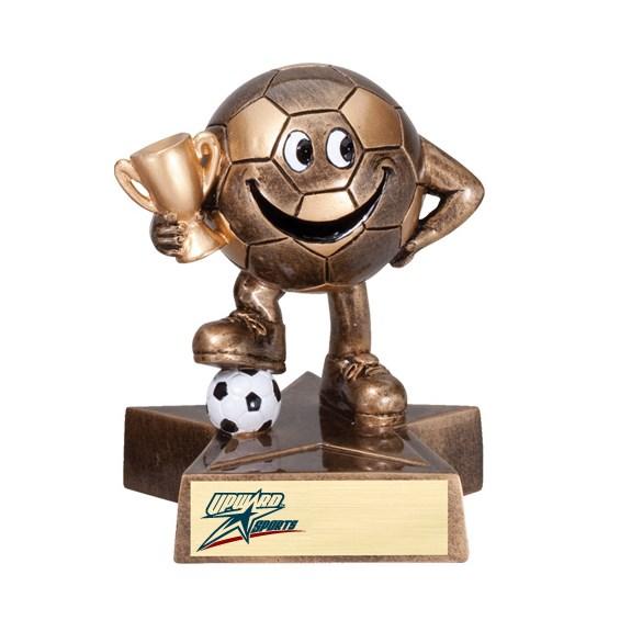 Happy Soccer Trophy