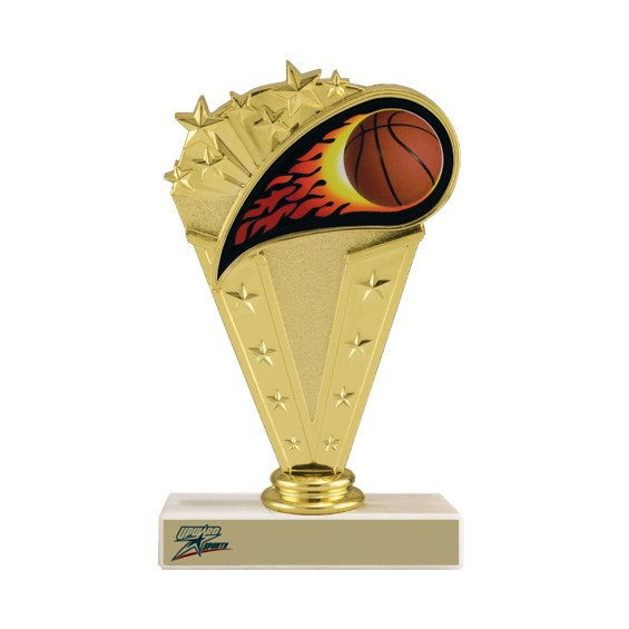 6-3/4 in Basketball Trophy