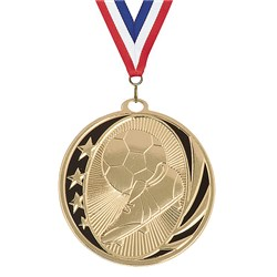 2 in MidNite Star Soccer Medal